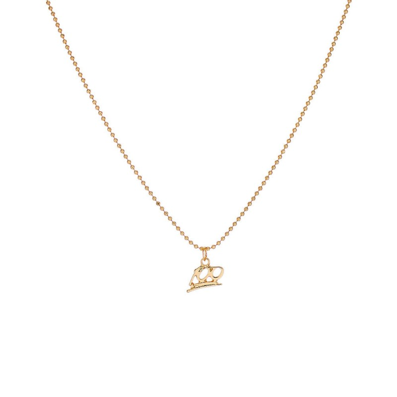 100 NUMBER CHARM DAINTY NECKLACE - GOLD